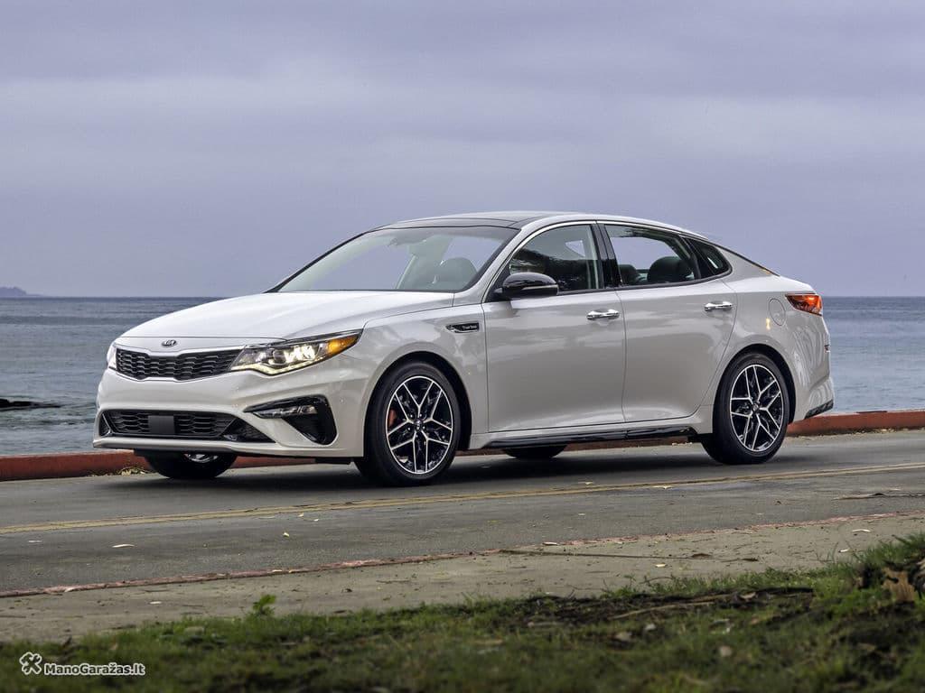 Kia Optima IV Facelift Sedanas modifikacijos | ManoGarazas.lt